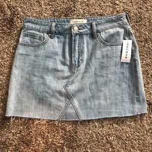 Brand new Pacsun Jean skirt